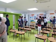 인천시교육청, '함께 만드는 미래학교 공간' 주제로 공간탐방 실시