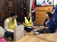 인천도시공사, 임대주택 고령 1인 가구에 말벗봉사 및 의약품 전달