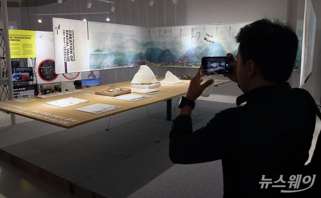 [NW포토]2019 서울도시건축비엔날레 'D-2'