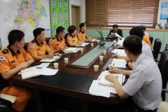 천안동남소방서, 제13호 태풍 '링링' 대비 긴급상황점검 회의 실시
