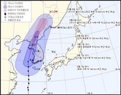 서울·인천에 근접한 태풍 '링링'…오후 2~3시 최대 강풍