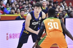 한국 농구, 코트디부아르 꺾고 25년만에 월드컵 1승