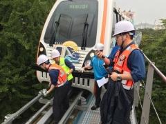인천교통공사, 월미바다열차 만차시험 및 고객대피훈련 실시