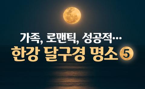 가족, 로맨틱, 성공적···한강 달구경 명소 5
