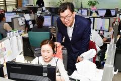 이대훈 NH농협은행장, '추석연휴 비상대응체계' 점검