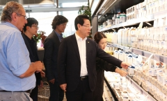 김영록 지사, 오스트리아서 '블루 이코노미' 투자유치 활동
