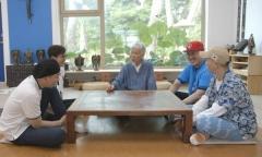 소산 박대성 화백과 솔거미술관 실검 1위 화제
