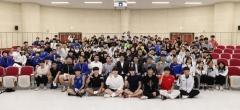 도성훈 인천시교육감, 전국체육대회 고등부 참가선수 격려