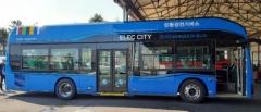 대구시, 친환경 전기시내버스 추가 도입