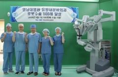 영남대병원, 갑상선암 로봇 수술 500례 돌파