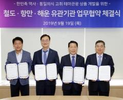 SR-인천항만공사-한국해운조합, 한반도 평화기원 투어 추진