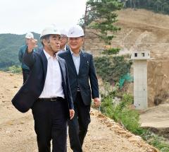 농어촌공사,  강원지역 용수공급과 안전관리 현장점검