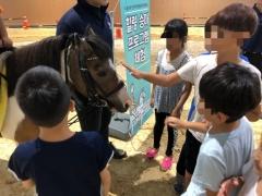 수도권매립지관리공사, 장애아동·소외계층 청소년 대상 `재활·힐링 승마 프로그램` 진행
