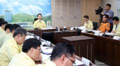 김영록 지사, 태풍 '타파' 피해조사 철저·신속 복구 강조