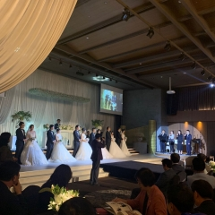 안양시, '국제로타리 3750지구·웨딩업체' 후원 합동결혼식