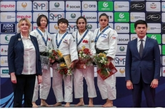 안산시청 정보경, 국제대회 여자 52㎏급 유도 금메달 획득