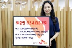SK증권, 27일까지 ELS·ELB 2종 공모