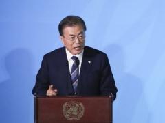 """문 대통령 """"韓, 기후변화 대응에 책임 다할 것"""""""