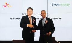 SK건설-블룸에너지, 고효율 연료전지 합작생산