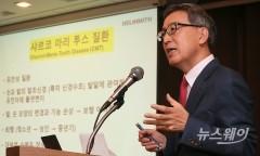 """김선영 헬릭스미스 대표, 주가 급락에 아들 주식 증여 취소···""""증여세 부담"""""""
