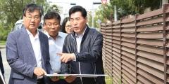 김상돈 의왕시장, 시민 불편 민원현장 등 점검