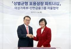 신한금융, 여성 리더 양성 전 그룹사로 확대…성별균형 지원 강화
