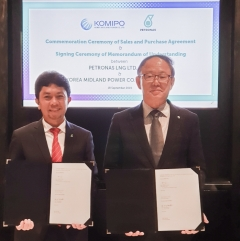 한국중부발전-페트로나스, LNG 공급구매계약 체결