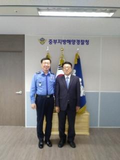허종식 인천시 균형발전정무부시장, 중부지방해양경찰청 인천 존치 요청
