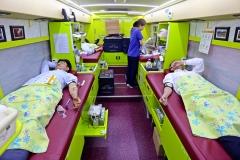 신동아건설 임직원 60여명 '사랑의 헌혈' 참여