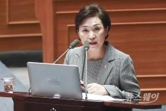 '분양가상한제' 말하는 김현미 장관