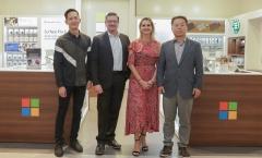 한국마이크로소프트, 롯데백화점에 '1호' 프리미엄 매장 오픈