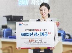 SBI저축은행, 12개월마다 우대금리 제공하는 'SBI회전 정기예금' 출시