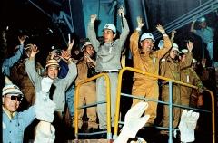 포스코 조강생산 10억톤 달성…'뜨거운 쇳물' 역사