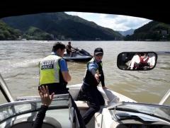 경기도, 내수면 수상레저 안전단속…위반행위 64건 적발