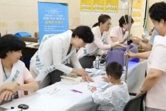 이대목동병원 간호부, `천사데이` 봉사활동 진행