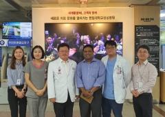 한림대성심병원, '장기조직기증 시스템' 해외의료진에 전수