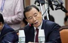 홍문표, 경찰청 국감서 '정치경찰' 문제 지적
