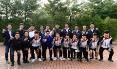 도성훈 인천교육감, 전국체육대회 인천시 고등부 역도 대표 선수들 응원