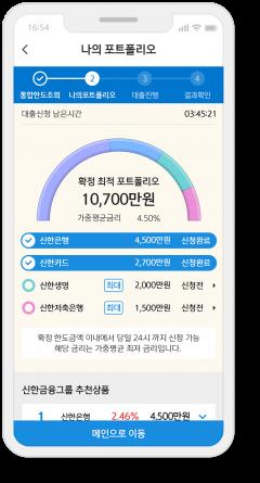 신한금융, 통합 모바일 대출 플랫폼  '스마트 대출마당' 편의성 강화