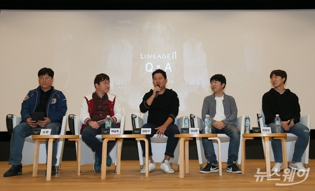 [NW포토]엔씨소프트,  '리니지2M'콘텐츠 설명회 및 개발자 인터뷰