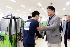 도성훈 인천교육감, 전국기능경기대회 출전선수 격려