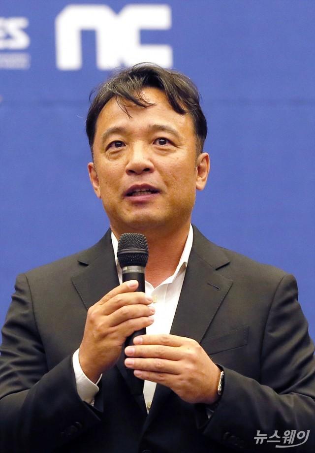 [NW포토]'주 52시간제' 어려움 말하는 김택진 대표