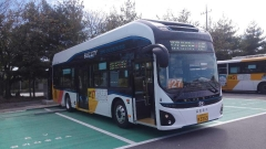 광주시, 첫 전기시내버스 달린다