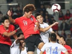 한국 U22, 우즈베키스탄에 3-1 역전승…김재우·오세훈·김진규 '골잔치'