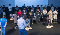 아시아문화원, 임직원 대상 심폐소생술 실습 교육