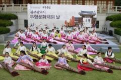 2019 무등울림축제, 18일 市무형문화재 작품발표회 열려
