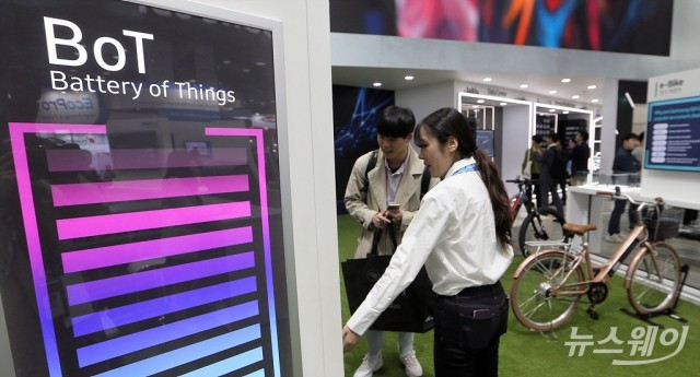 [NW포토]첨단 에너지 신기술 선보인 '인터배터리 2019'