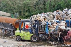 영천시, 북안면 폐기물업체 방치폐기물 행정대집행