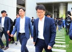 대법원 상고심 마치고 나서는 롯데그룹
