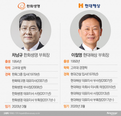 '생·손보 빅2' CEO 임기 D-5개월…단독체제·세대교체 촉각